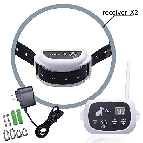 Dog Shock Collar Remote And Fence