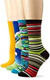 Ozone Women's 4 Pack Crew Socks – Gre…