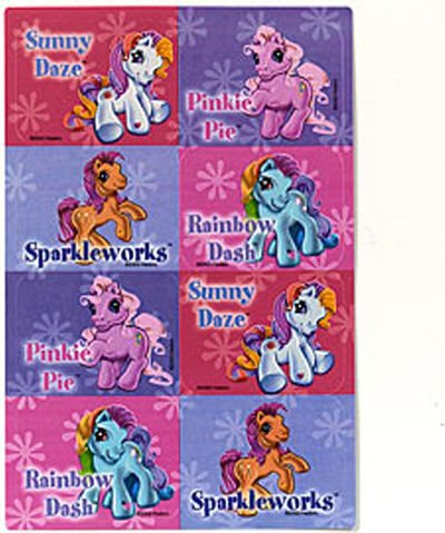 My Little Pony Sticker Sheets (2 count)