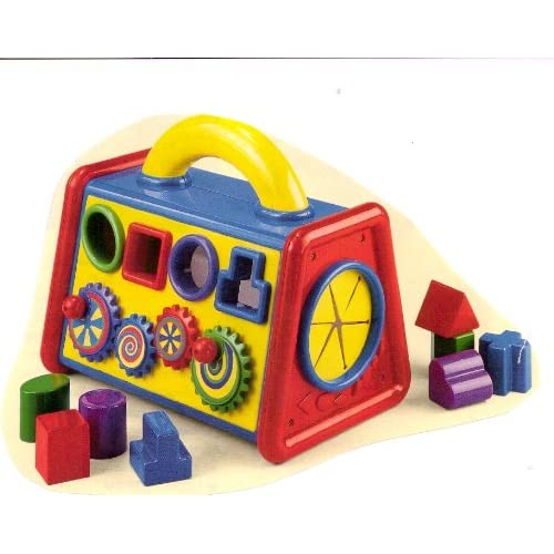 Amazon.com: Discovery Toys Busy Time Playbox