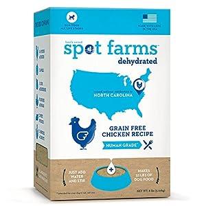 Spot Farms Dehydrated Grain Free Chicken Formula Dog Food, 8.0 lb