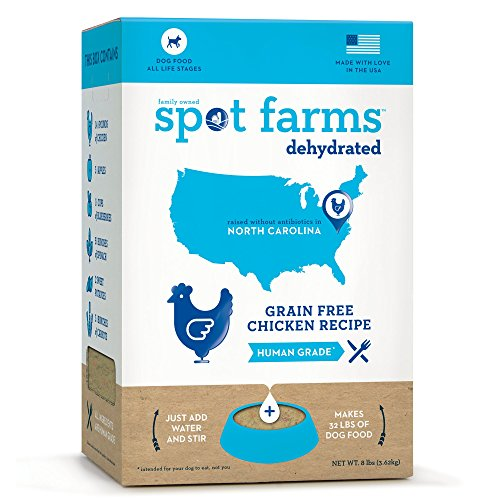 Spot Farms Dehydrated Grain Free Chicken Formula Dog Food, 8.0 lb_Image0