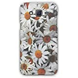 Cover Affair Flowers 3D Printed Back Cover Case For Samsung Galaxy J7 (2015)