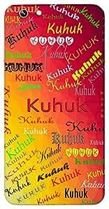 Kuhuk (kuhuk .kuhuk Bole Koyalia.) Name & Sign Printed All over customize & Personalized!! Protective back cover for your Smart Phone : Moto X-STYLE