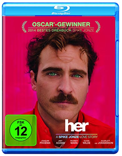 Her (inkl. Digital Ultraviolet) [Blu-ray]