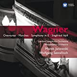 Wagner : Ouvertures - Marches - Symphonie en mi majeur - Siegfried Idyll