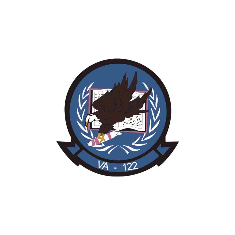 US Navy VA 122 Squadron Decal Sticker 3.8