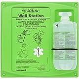 Honeywell EyeSaline Personal Eyewash Wall Station, Single 32-oz. Bottle