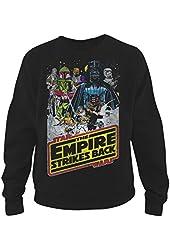 Star Wars Empire Strikes Back Mens Graphic Sweatshirt - Fifth Sun