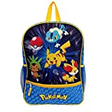 Pokemon X & Y Starters Backpack Froakie Chespin Fennekin Reflective