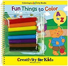 Creativity for Kids Fun Things To Color A To Z