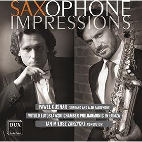 Waltz No. 8 in A flat major, Op. 64, No. 3 (arr. for saxophone)