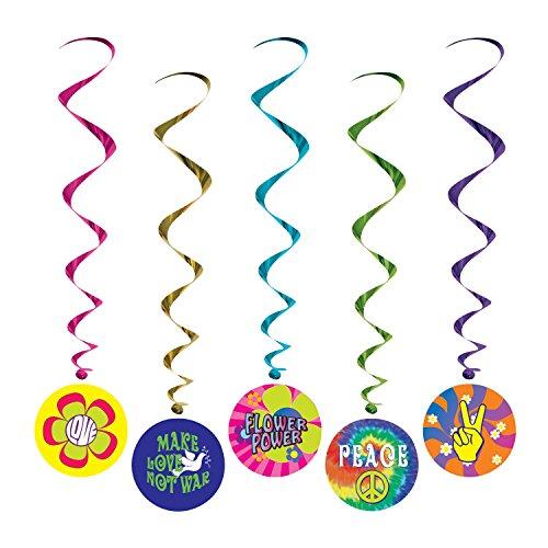 60's Whirls   (5/Pkg)