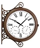 Double Sided Station Clock - 38cm (15