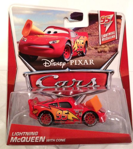 Cars 95 Lightning McQueens Lightning McQueen with Cone Die Cast Vehicle
