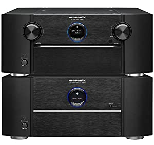 marantz av8801 surround sound preamplifier mm8077 7 channel power amplifier bundle. Black Bedroom Furniture Sets. Home Design Ideas