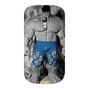 Delighted Blue Big Guy Back Case Cover for Galaxy S3 Mini