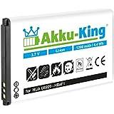 Akku-King Batterie (1200mAh) für Huawei U8220