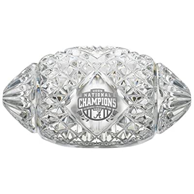 Amazon.com - Waterford Crystal Football 2009 BCS National