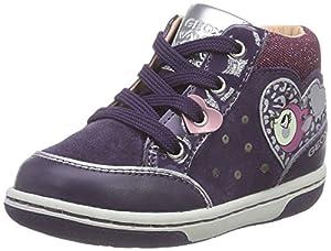 Geox B FLICK GIRL B - zapatillas de running de cuero Bebé-Niños