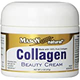 Mason Vitamins Collagen Beauty Cream 100% Pure Collagen Pear Scent, 2 Ounce Jar  (Pack of 3)