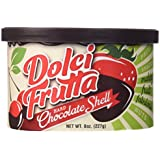 Dolci Hard Chocolate Shell Frutta 4 8oz. Containers