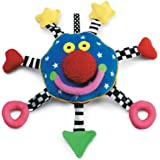 Manhattan Toy Baby Whoozit 6 Inch Stroller and Travel Activity Toy