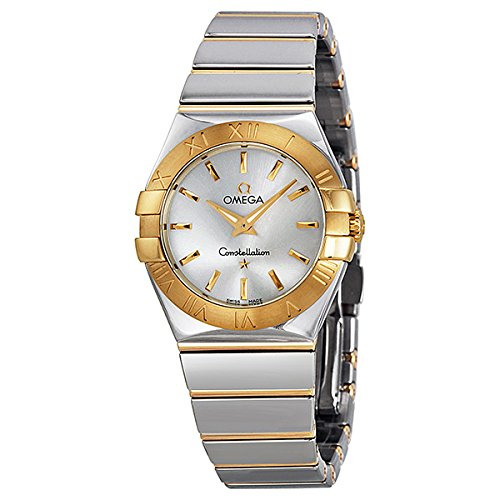 Omega Women's 12320276002004 Constellation Analog Display Swiss Quartz Two Tone Watch (Omega Gold Ladies compare prices)