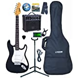 Encore EBP-KC3T Black Electric Guitar Outfitby Encore