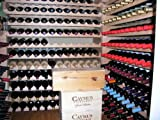 Wine Rack Wood -48 Bottles Modular Hardwood Wine Racks (12 bottles x 4 shelves)