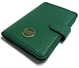 Michael Kors Fulton Passport Case Holder (Gooseberry Green)