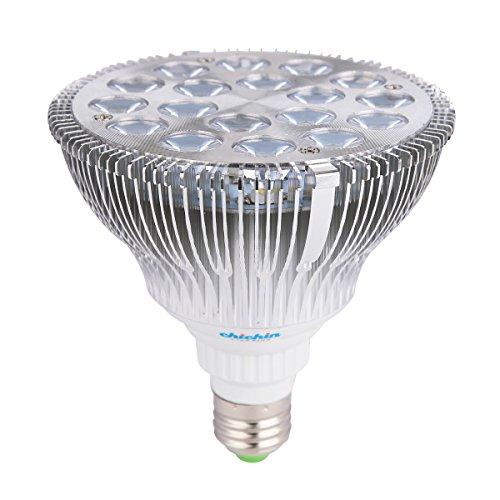 Chichinlighting® 15W Par38 E26 E27 Led Plant Grow Light Bulb Reflector Spotlight Help Plant Grow Indoor (Red 610-640 Nm, Blue 450-470 Nm)