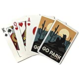 Lantern Press Saguaro National Park, Arizona - Go Park Yourself (Playing Card Deck - 52 Card Poker Size With Jokers)