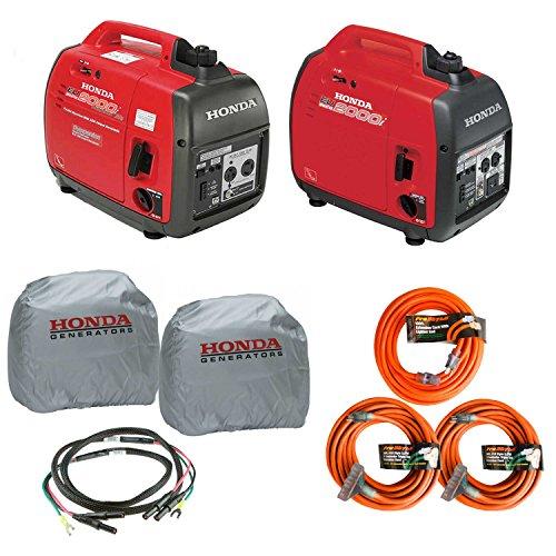 Honda EU2000i and EU2000ic Companion Inverter Generator Parrallel Combo Kit (Honda Portable Generator Eu2000i compare prices)