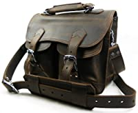 "Vagabond Traveler 14"" Leather Messenger Laptop Bag L40 from Vagabond Traveler"