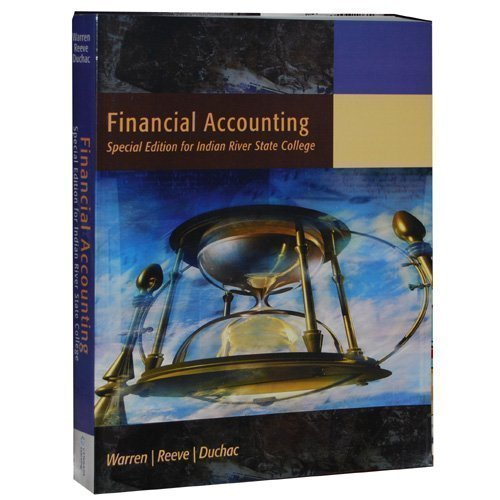 Financial Accounting (Special Edition for Indian River State College)