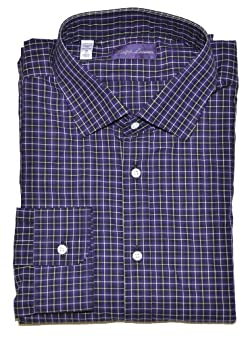 Ralph Lauren Purple Label Men Plaid Shirt - Made in Italy