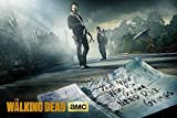 The Walking Dead Poster Rick & Daryl Road - Poster Großformat (91,5cm x 61cm) + 1 Überraschungsposter dazu!