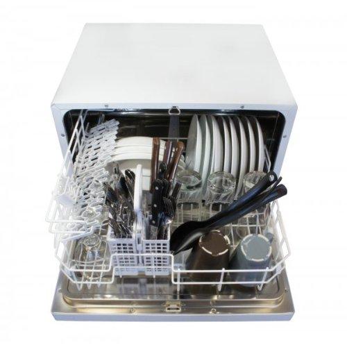Countertop Dishwasher Panda : SPT Countertop Dishwasher, White