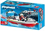 Playmobil 4823 Fire Boat with Trailer