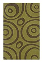 Hot Sale Rizzy Rugs DI-0636 9-Foot by 12-Foot Dimension Area Rug, Contemporary Green