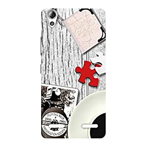 Stylish Vintage Style Multicolor Back Case Cover for Lenovo A6000 Plus
