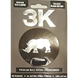 THE ORIGINAL 3K RZONE  BLACK  POWER 6PACK Men Sexual Supplement Enhancement PLUS LOVE POTION EXCLUSIVE PEN