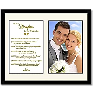 Wedding Gifts For Parents Amazon : Amazon.com: Daughter Wedding Gift from Parents - Touching Wedding Gift ...