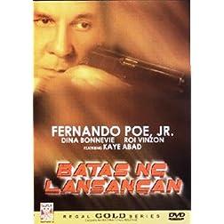 Batas ng Lansangan - Philippines Filipino Tagalog DVD Movie