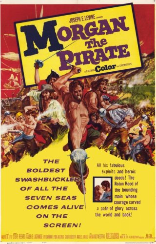 Morgan il pirata / Capitaine Morgan / Morgan, the Pirate / Пират Морган (1961)