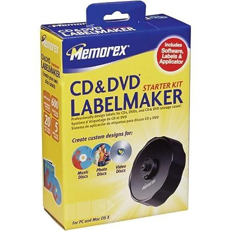 Memorex CD LABELMAKER STARTER KIT ( 32023968 )