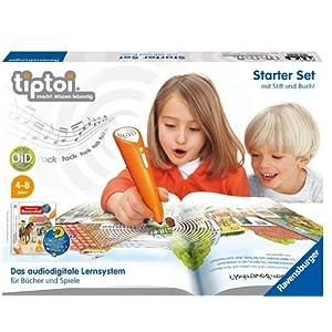 b26dfe23ba06a Ravensburger 00502 - tiptoi®  Starter-Set mit Stift   Buch