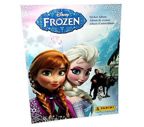 Disney 2014 Panini Frozen Sticker Album with 10 Bonus Stickers! - 1