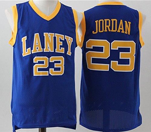 Mens Chicago Bulls Michael Jordan #23 High School Basketball Jersey